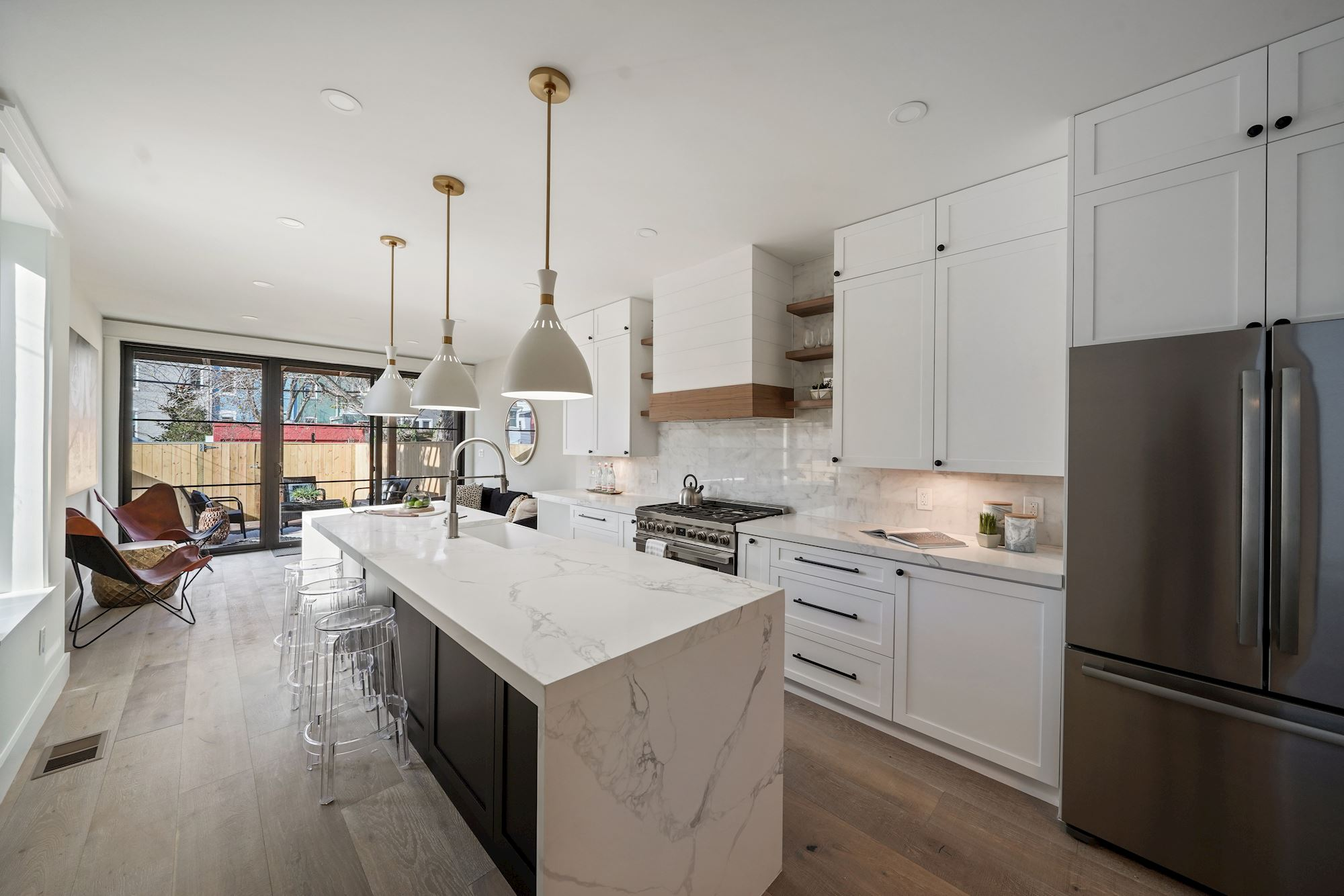 Modern Farmhouse DC Row House