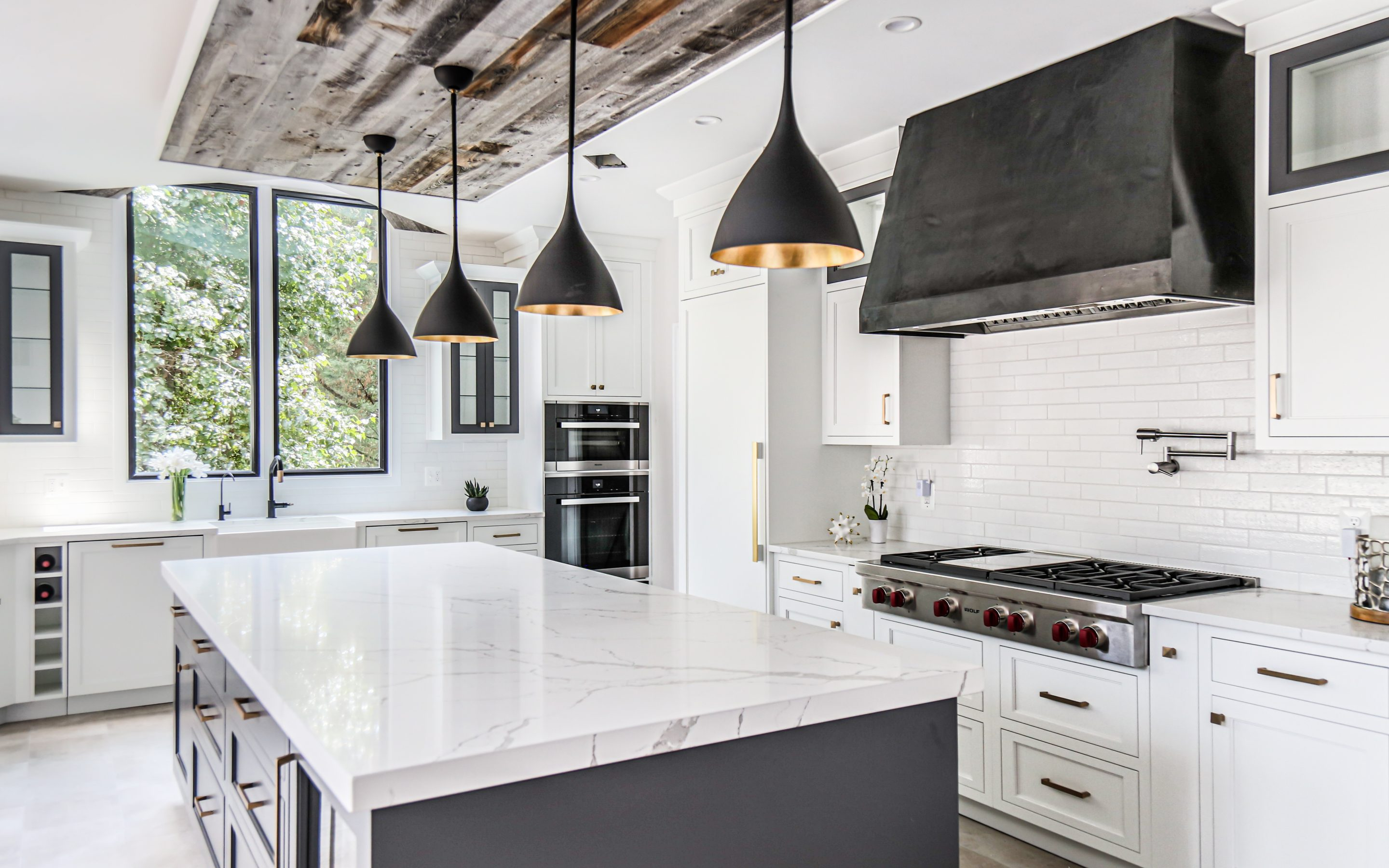 Modern Farmhouse Kitchen in McLean