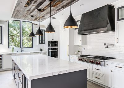 Modern Farmhouse Kitchen in McLean