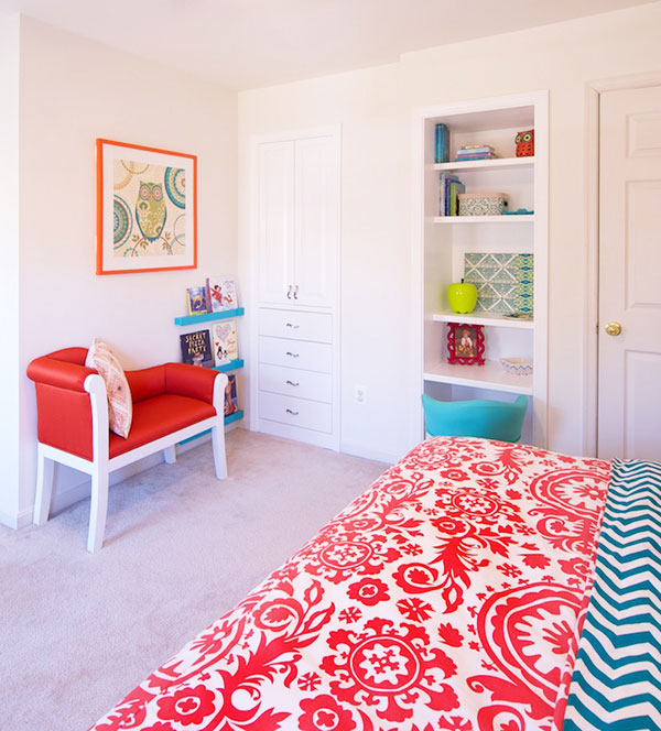 Colorful Little Girl's Room in Fairfax