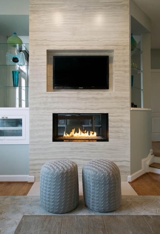 Great News For Olamar! We Recently Won A Merit Award For Our Sterling Project Fireplace Design