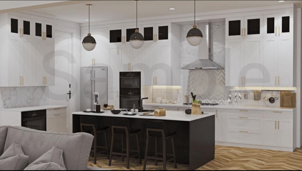 shanley kitchen rendering